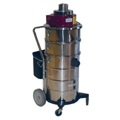 Minuteman [C84015-01] MRS-4 Mercury Recovery Wet Critical Filter Tank Vacuum - 15 Gallon