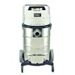 Minuteman [705-15] 705 Series Pneumatic-Operated Wet/Dry Tank Vacuum - Stainless Steel Tank - 15 Gallon