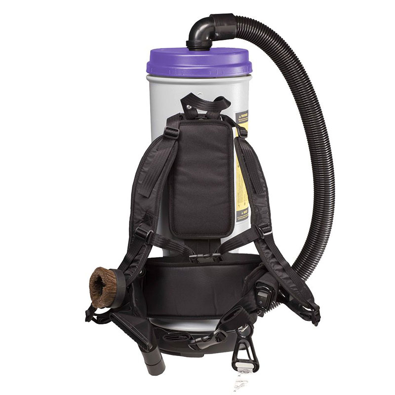 Super CoachVac HEPA Backpack Vacuum