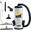 QuietPro BP Backpack Canister Vacuum w/ Xover Tool Kit A PT-105733