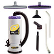 Super QuartVac HEPA Backpack Vacuum w/ Xover Tool Kit B PT-107108