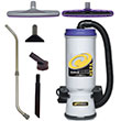 Super CoachVac HEPA Backpack Vacuum w/ Xover Tool Kit C PT-107114