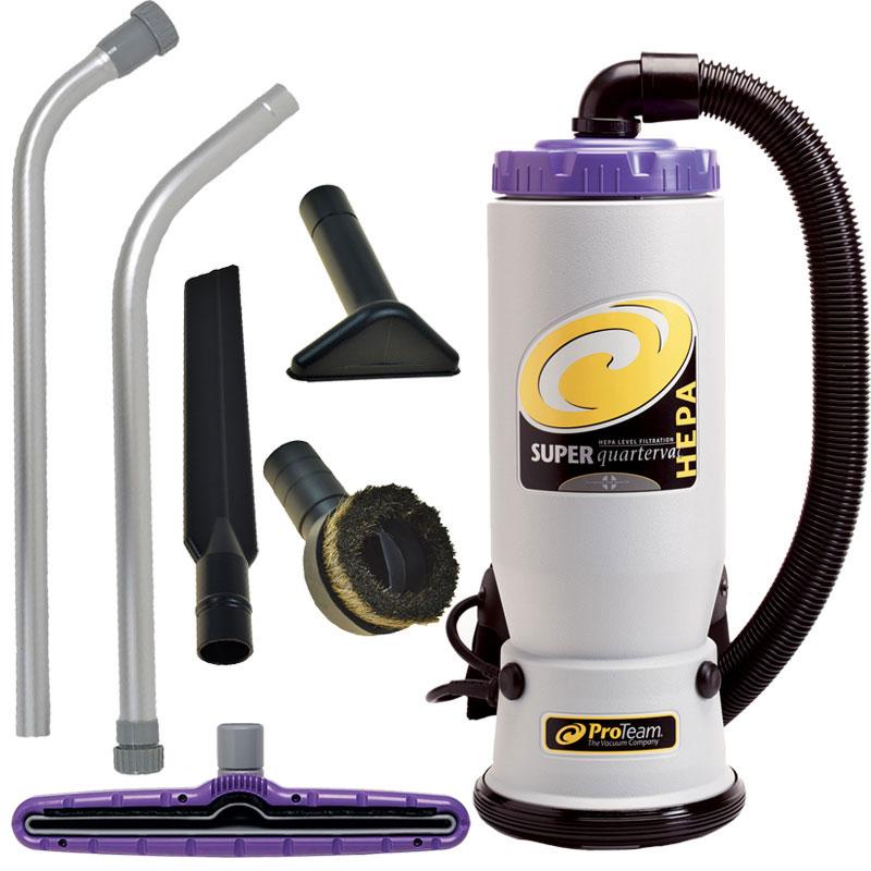 ProTeam Super QuarterVac Backpack Vacuum