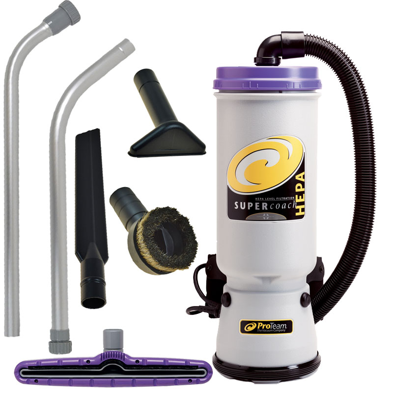super coachvac hepa backpack vacuum - Backpack Vacuum