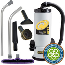 ProTeam Backpack Vacuum HEPA