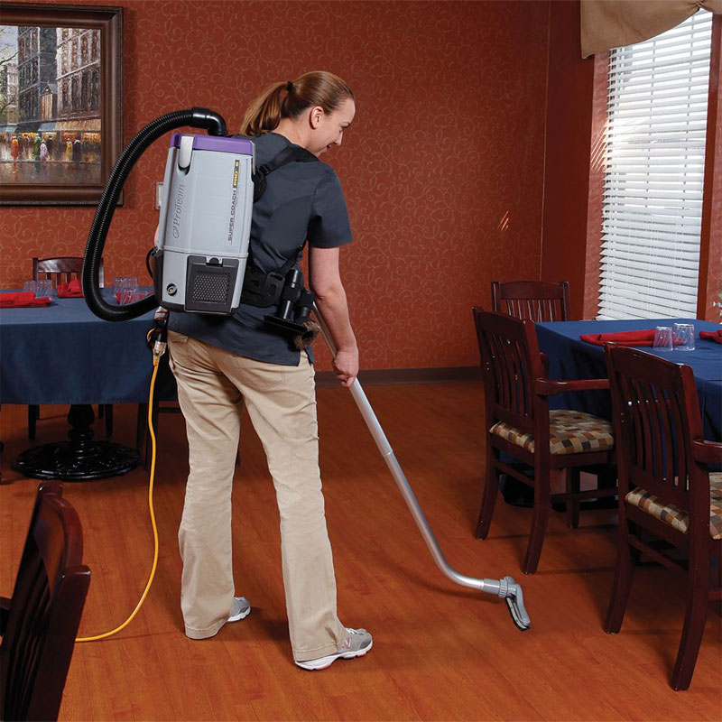 ProTeam 107309 Super Coach Pro 6 Backpack Vacuum