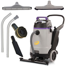 ProGuard 20 Wet/Dry Vacuum w/ Front Mount Squeegee & Tool Kit