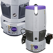 Battery Operated Vacuums - Proteam
