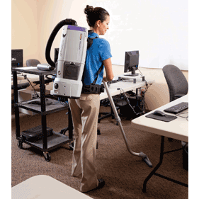 ProTeam GoFree Battery Operated Backpack Vacuum