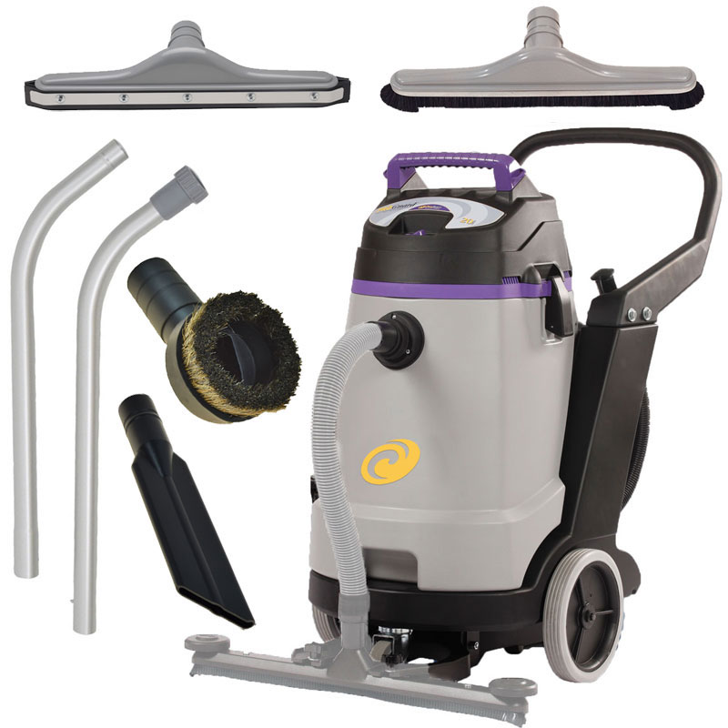 ProTeam ProGuard 20 Wet Dry Vacuum Cleaner