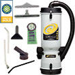 ProTeam LineVacer w/ HEPA Back Pack Canister Vacuum PT-100277