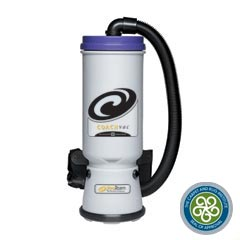 Pro-Team CoachVac Back Pack Canister Vacuum w/ Attachment Kit B