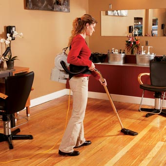 ProTeam 101550 TailVac® Hipstyle Vacuum w/ Heavy-Duty Kit B - 1.5