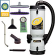 ProTeam LineVacer HEPA Backpack Canister Vacuum w/ Xover Tool Kit D PT-107142