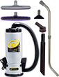 QuietPro BP Backpack Vacuum HEPA w/ Xover Tool Kit D PT-107146