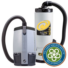 Quiet & Restaurant Backpack Vacuums