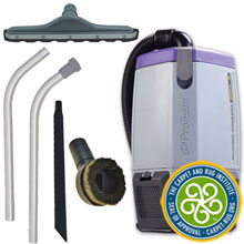 Super Coach Pro 6 Back Pack Vacuum with Hard Surface Floor Kit