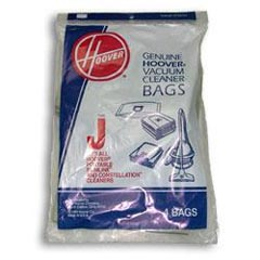 Hoover [4010010J] Vacuum Cleaner Bags - 4 Pack - Type J