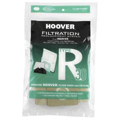 Hoover [40101002] Filtration Replacement Vacuum Cleaner Bags - 5 Bags - 2 Filters - Type R30