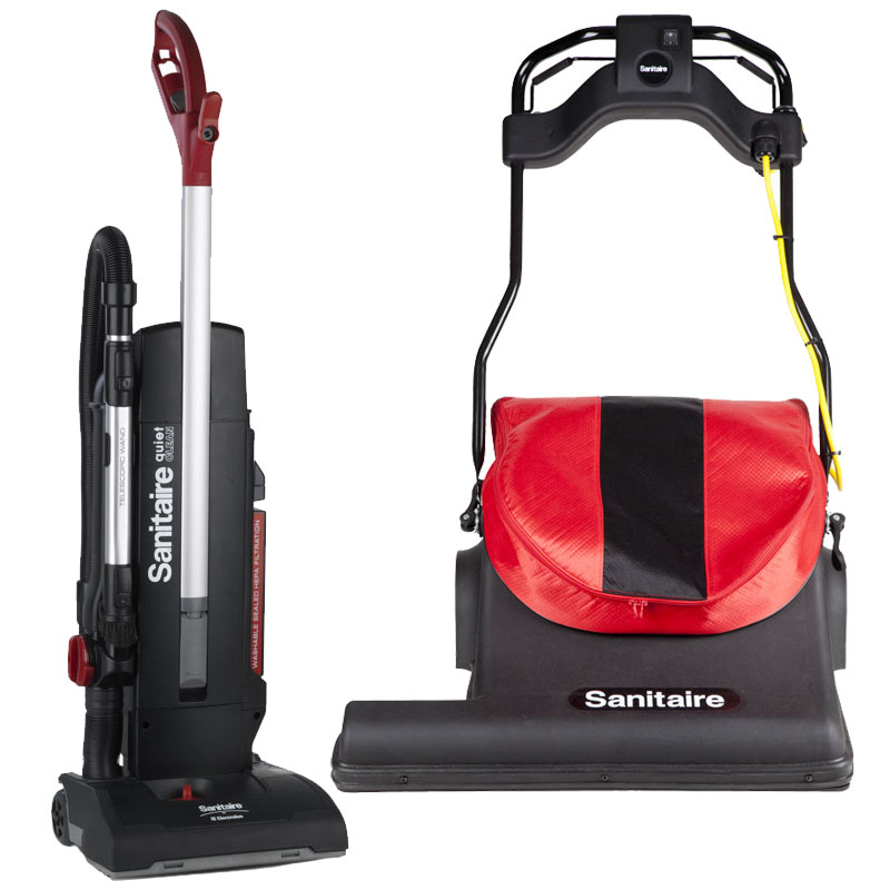 Upright Vacuums - Sanitaire