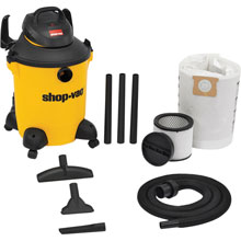 10 Gallon Ultra Pro Wet/Dry Vacuum - 4 HP