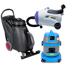 Wet/Dry Canister Vacuums