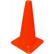 Safety Cone, 18H x 11 1/4 Base - Orange 581844