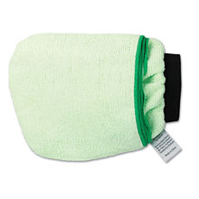 Grip-N-Flip 10-Sided Microfiber Mitt - Green BWKMICROMITTGRE