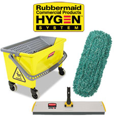 Rubbermaid HYGEN™ Systems