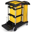 Rubbermaid [9T73] HYGEN™ Microfiber Cleaning Cart RCP9T73