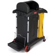 Rubbermaid 9T75 Cleaning Cart HYGEN Microfiber High Security RCP9T75
