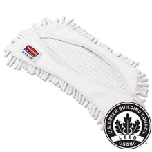 "HYGEN Flexi Frame Damp Mop Covers - White - 8.9"" x 5.9"" RCPQ861WHI"