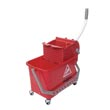 Unger [COMSR] Microfiber Restroom Cleaning Bucket/Press Wringer Combo - 4 Gallon UNGCOMSR