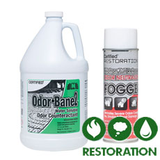 Restoration Cleaning Chemicals - Nilodor