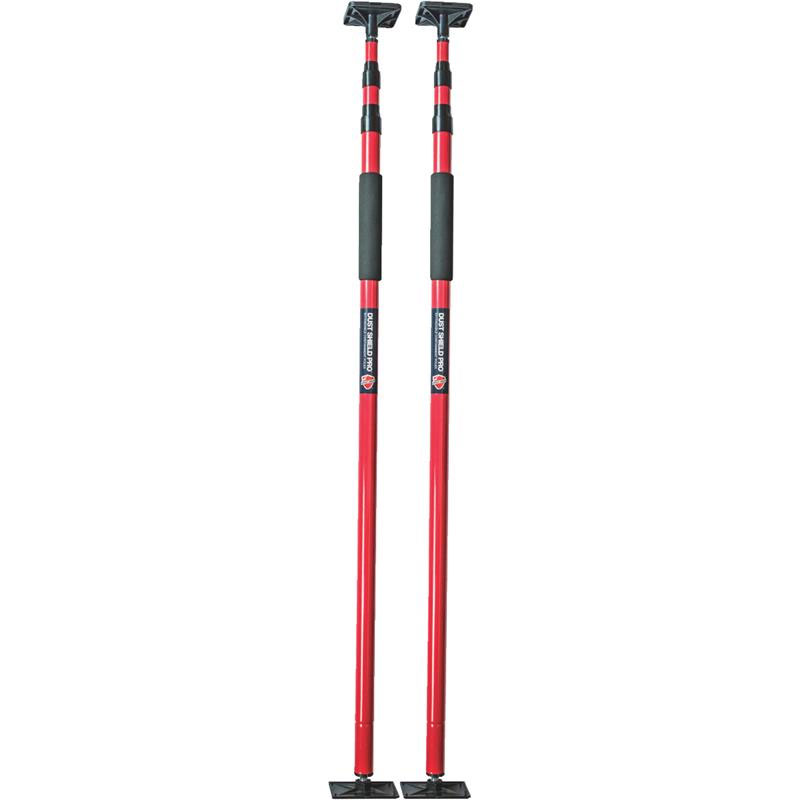 2 Pack Adjustable Pro Poles Area Containment Unoclean