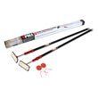 ZipWall ZP2 ZipPole Spring Loaded Pole Dust Barrier Temporary Wall System - 2-Pack
