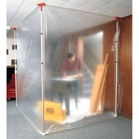 Zipwall SLP6 Temporary Wall Dust Barrier System