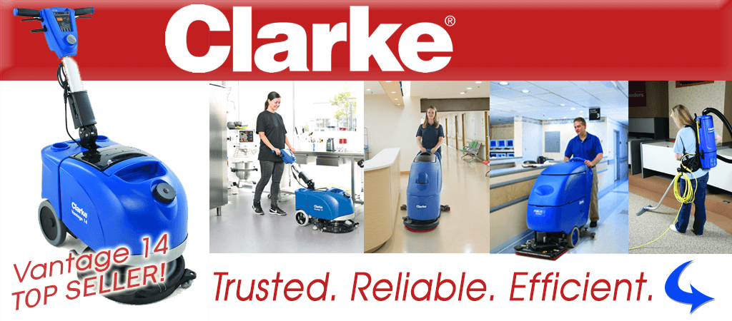 Clarke Equipment Floor Scrubbers