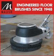 Malish Floor Machine Brushes, Pads, Pad Drivers, Disc Drivers, Clutch Plates & Pad Centering Devices