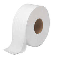 JRT Bath Tissue, Jumbo, Two-Ply, 1000 ft, White BWK6100