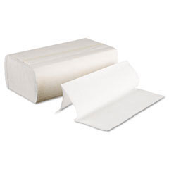 Multifold Paper Towels, Bleached White, 9 x 9 9/20 BWK6200