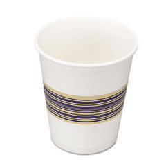 Paper Hot Cups, 8 oz, Blue/Tan BWK8HOTCUP