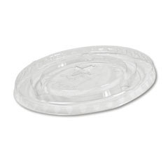 Cold Cup Straw-Slot Lids, Fits 20oz Cups, Clear BWKYLP-20C