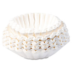 Flat Bottom Coffee Filters, 12-Cup Size BNNBCF-250