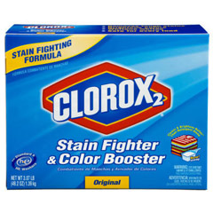 Stain Fighter & Color Booster Detergent, Powder, 49.2 oz. Box CLO03098