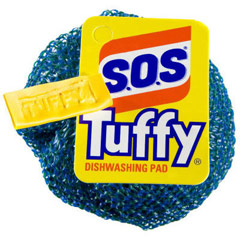 Tuffy Nylon Dishwashing Scouring Pads CLO98130