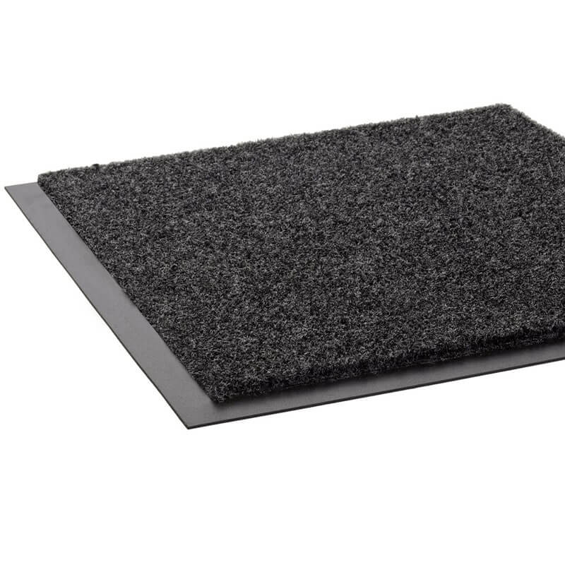 Eco-Step Wiper Mat, P.E.T. Polyester, 36 x 120, Charcoal CROET310CHA