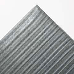 Ribbed Antifatigue Mat, Vinyl, 36 x 60, Gray CROFL3660GRA