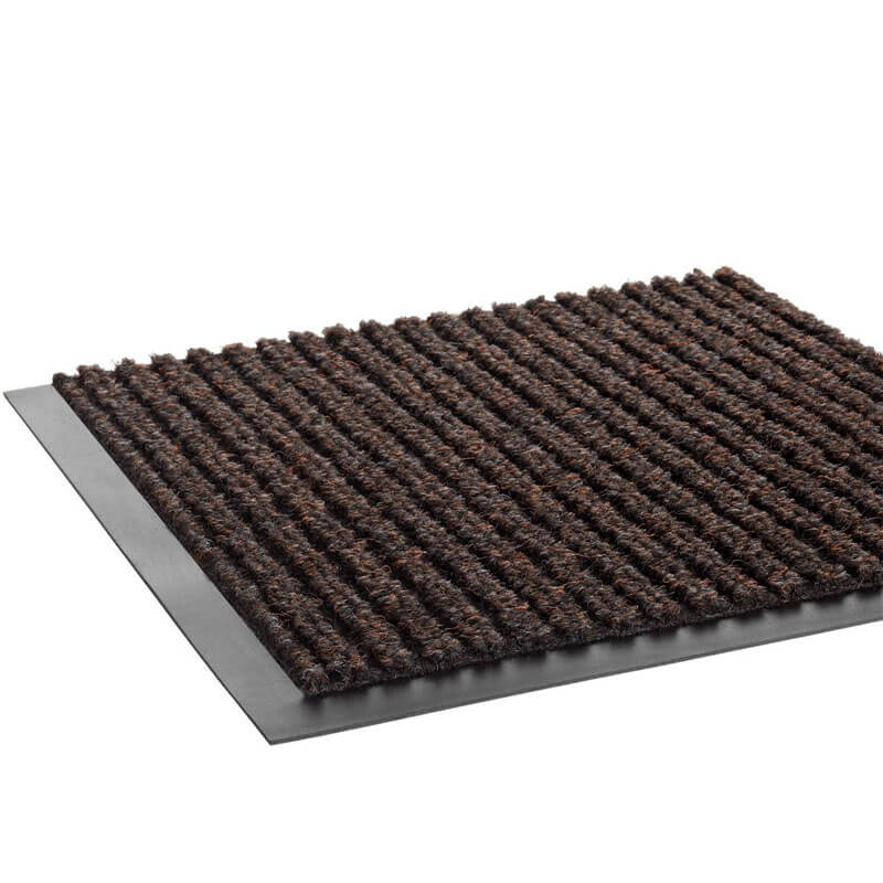 Needle-Rib Wiper/Scraper Mat, Polypropylene, 36 x 120, Brown CRONR310BRO