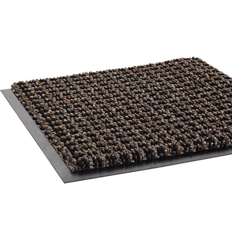 Oxford Wiper Mat, Black/Brown - 48